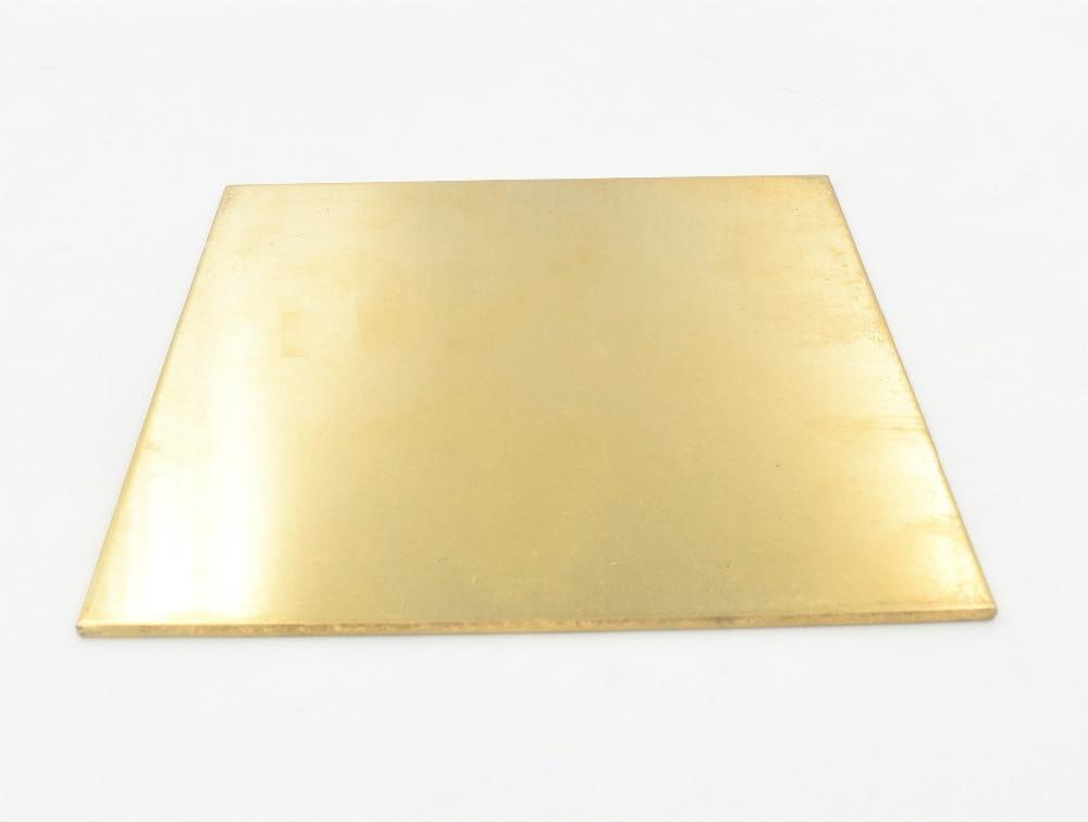1 шт. квадратная латунная металлическая табличка 50*50 мм 100*100 мм Детали инструментов      АлиЭкспресс