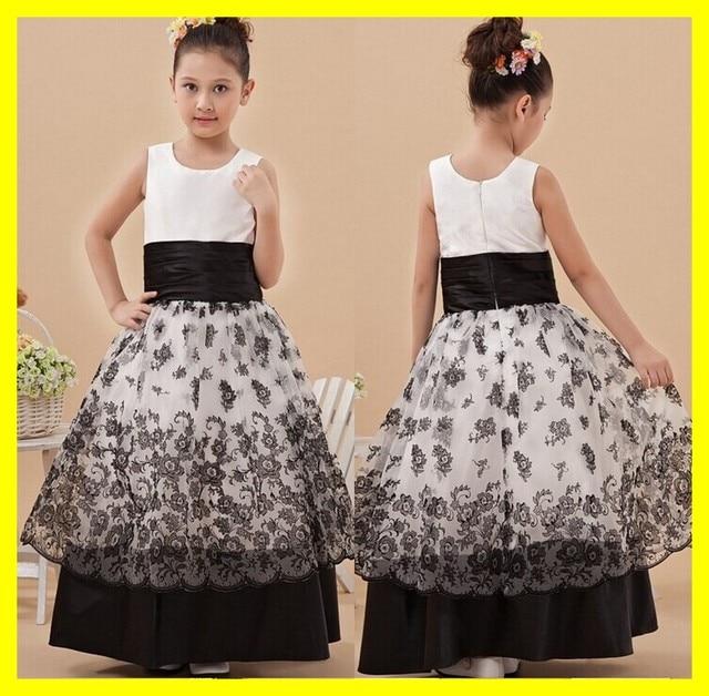 Party Dress Girl Baby Easter Dresses Flower Glasgow Communion Black ...