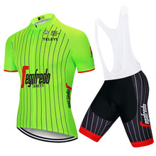 2019 Summer TOUR UCI Team Cycling Clothing Bike Jersey Ropa Mens Bicycle Pro Cycling Jerseys Gel Pad Bike Shorts Sets