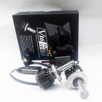 V16 H4 Hi/lo 30w 3600LM 6000K Turbo LED Automobile headlight high low lightings