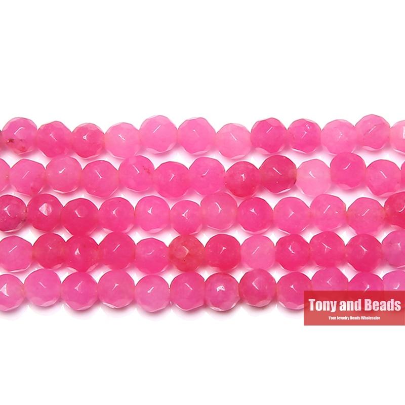 (85 pièces/brin = 1Lot ! ) Livraison gratuite pierre naturelle 4MM facettes colorées Jades perles en vrac choisir la couleur pour la fabrication de bijoux