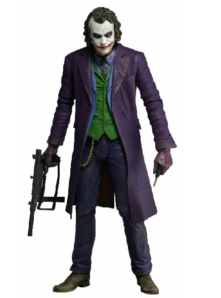 NECA Batman The Dark Knight The Joker 1/4 Scale PVC Action Figure Collectible 16″ 48CM  MVFG240