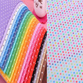 21 Candy Color 100% Polyester Polka Dot Printed Nonwoven Felt Fabric For DIY Sewing Handmade Felt