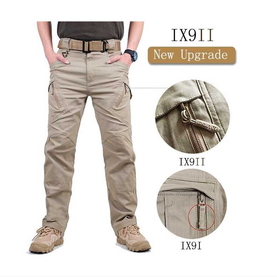 Мужские тактические брюки-карго TAD IX9(II), армейские тренировочные военные брюки спецназа, спортивные брюки для походов и охоты
