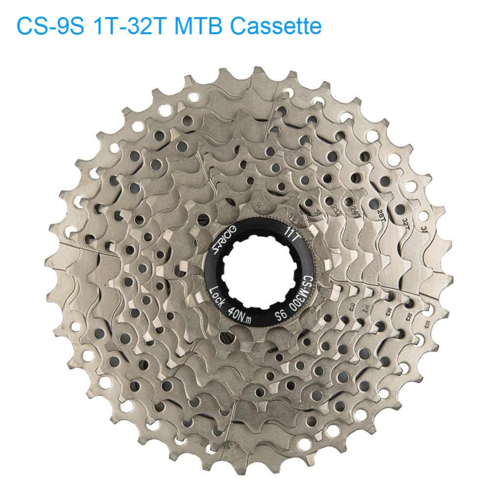 S-ride MTB 11 T-32 T зубная кассета велосипед 9 гоночный горный велосипед Тип карты 27 скоростная кассета совместимый для Shimano Sram sunracing
