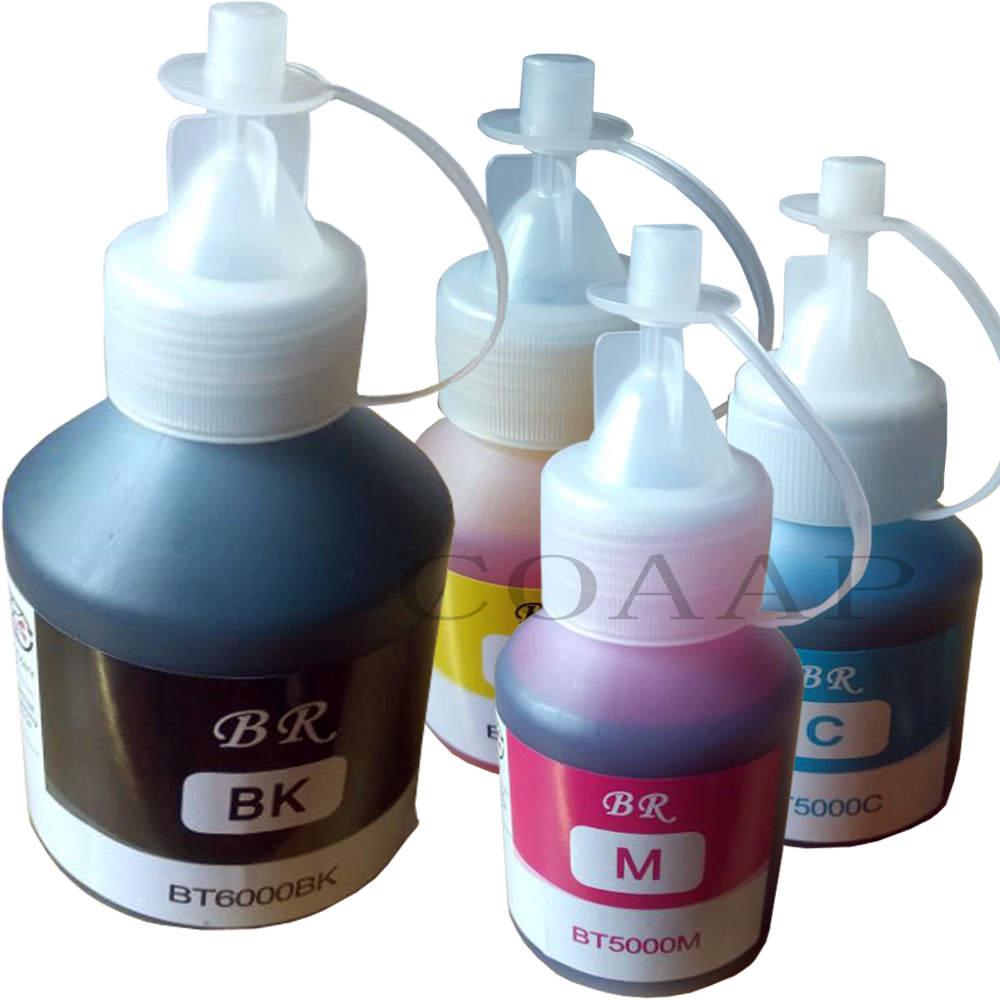 BT6000BK BT5000C BT5000M BT5000Y Refillable Ink For Brother DCP-T300 DCP-T500W DCP-T700W & MFC-T800W Printer
