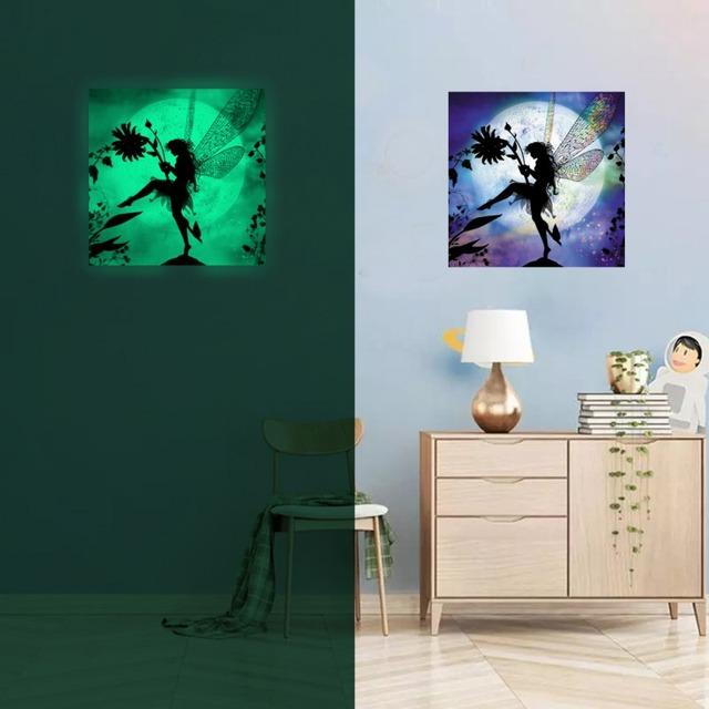 Self-Adhesive Luminous Wall Hanging Painting