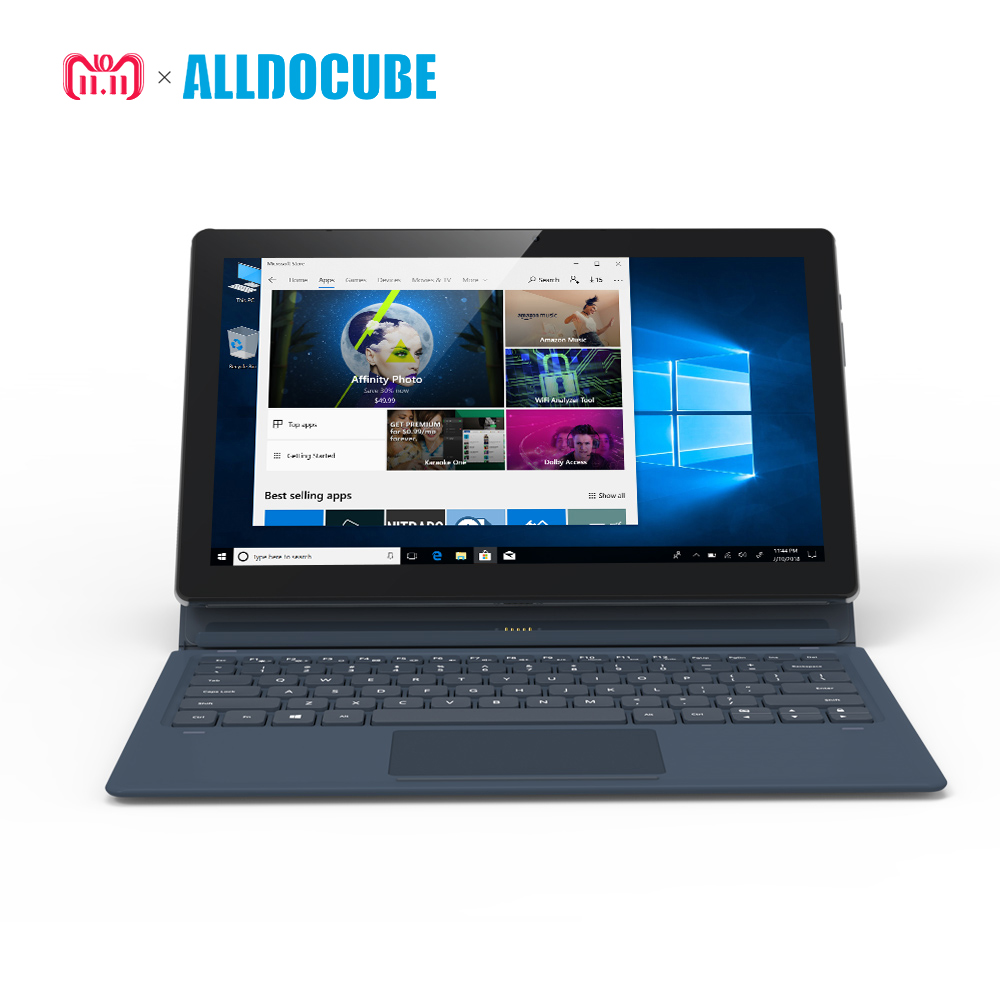 ALLDOCUBE KNote5 11.6 pouce FHD 1920*1080 IPS windows10 Intel Gemini Lac N4100 Quad Core Tablet PC 4 gb RAM 128 gb ROM Double WiFi