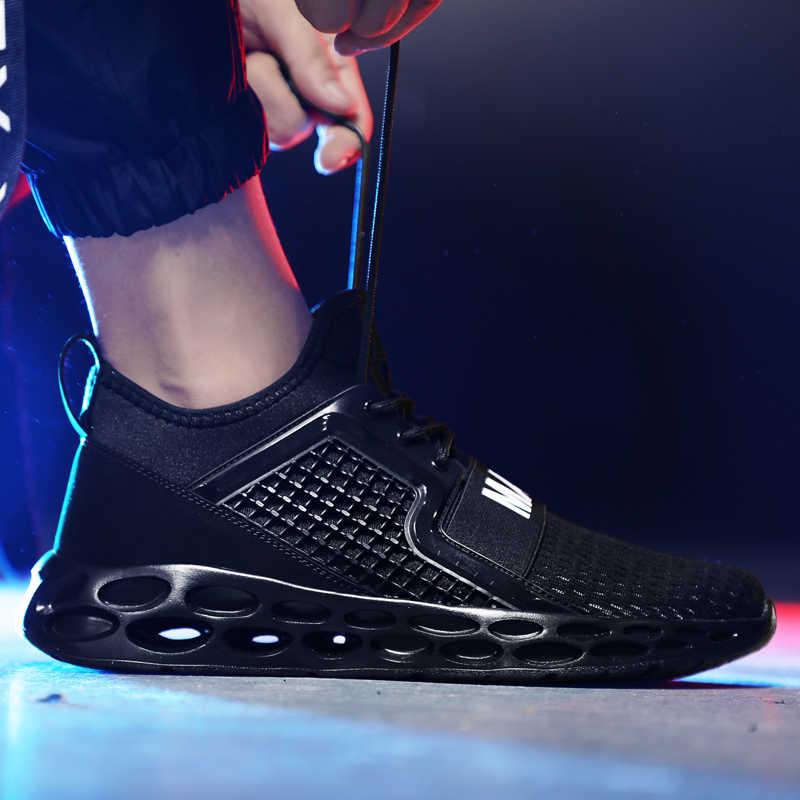 DUDELI תוספות חמה למכור לגפר נעלי גברים מקרית חיצוני דעיכת סניקרס גברים בתוספת גודל זכר הנעלה לבן לגפר נעלי