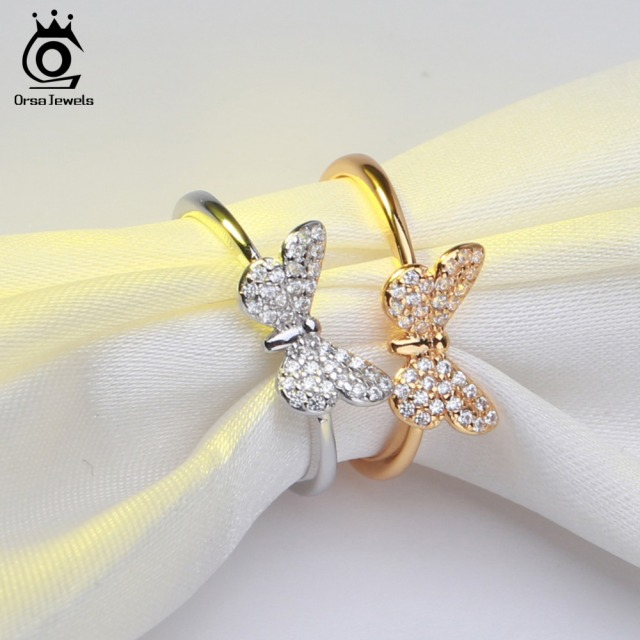 Butterfly Cut Sterling Silver Women Rings | Fashion Jewelry
