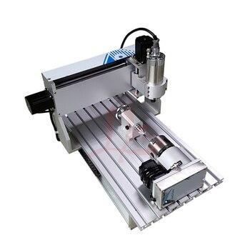 Kit Fresatrice Cnc | 4 Assi Mini Macchina Di Fresatura Cnc 3040VH 1500 W Mandrino Incisione In Metallo Con La Taglierina Pinza Morsa Foratura Kit
