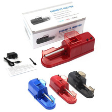 US EU AC Plug Electric Automatic Cigarette Rolling Machine AUTO Tobacco Injector Maker Roller Smoke Tube