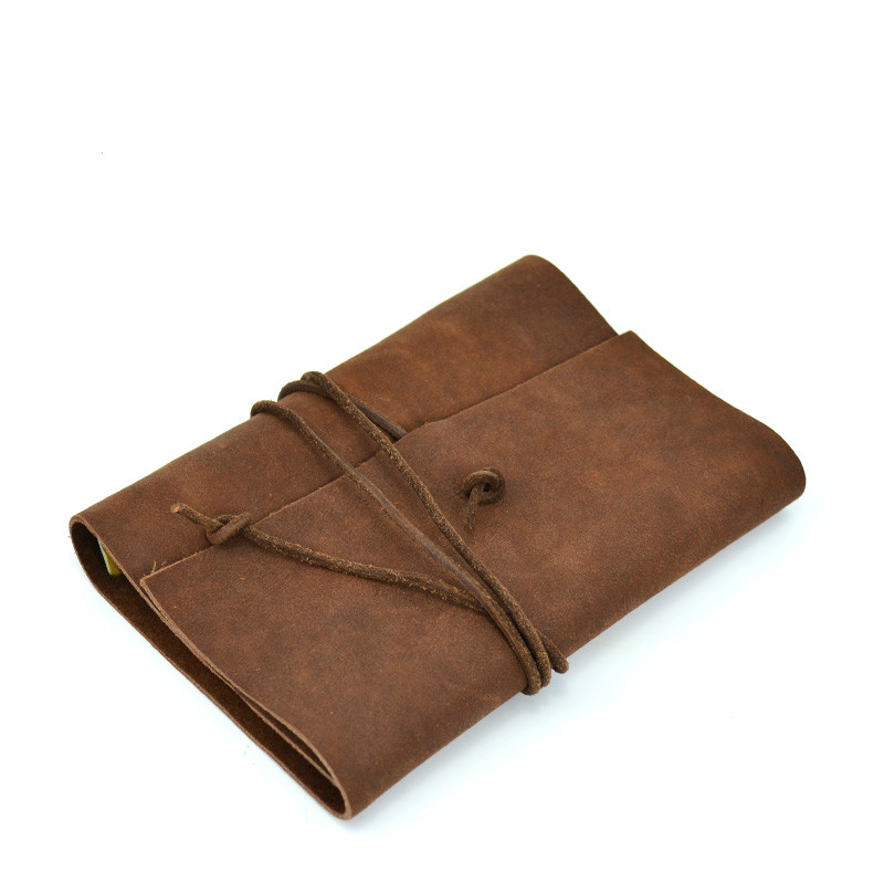 Junetree Binder Travelers Notebook Vintage Soft Leather  Daily Planner Journals for gift