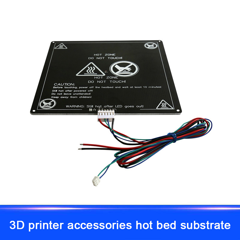 New Heated Bed Black Parts Heatbed HotBed Aluminum Plate PCB For 3D Printers EM88