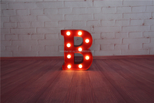 Red Metal Letters With Lights Buy Metal Wall Alphabet And Get Free Shipping On Aliexpress