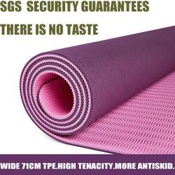 Tpe yoga tapis esterilla yoga tapis pour fitness pilates 71widw insipide pour debutants yoga tapis fitness.jpg 250x250
