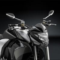 Motorcycle Side Mirror Aluminium CNC Rearview For Rizoma VELOCE SPORT Kawasaki Z750 Suzuki Katana Hyosung Gt250r