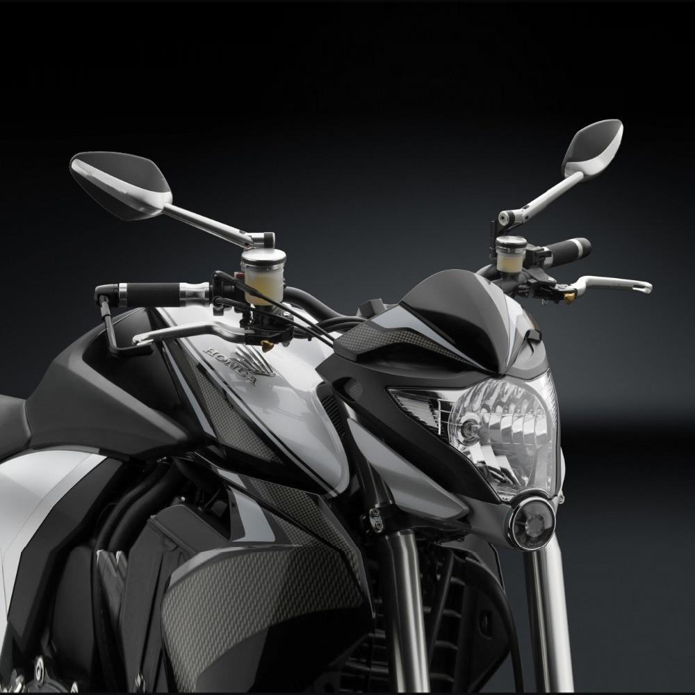 Motorfiets zijspiegel Aluminium CNC Achteruitkijkspiegel voor Honda dio VELOCE SPORT Kawasaki z750 Suzuki katana hyosung gt250r bmw r1200gs