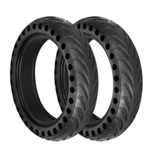 MAHAQI 2PCS/set  Upgraded Solid Hollow pneu wheel for Xiaomi Mijia M365 Electrique Scooter Hot Sale