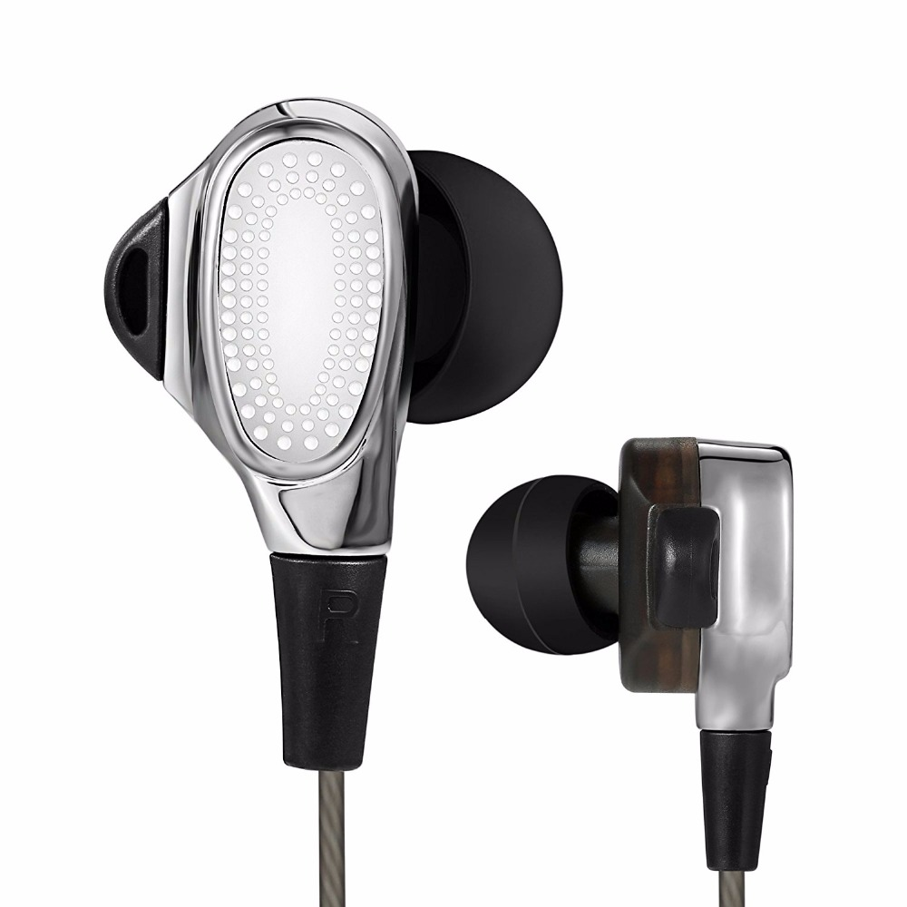 YTOM Special Edition Earphone with Microphone 3.5mm HD HiFi In Ear Monitor Bass Stereo dual driver Earbuds headphons for Phone