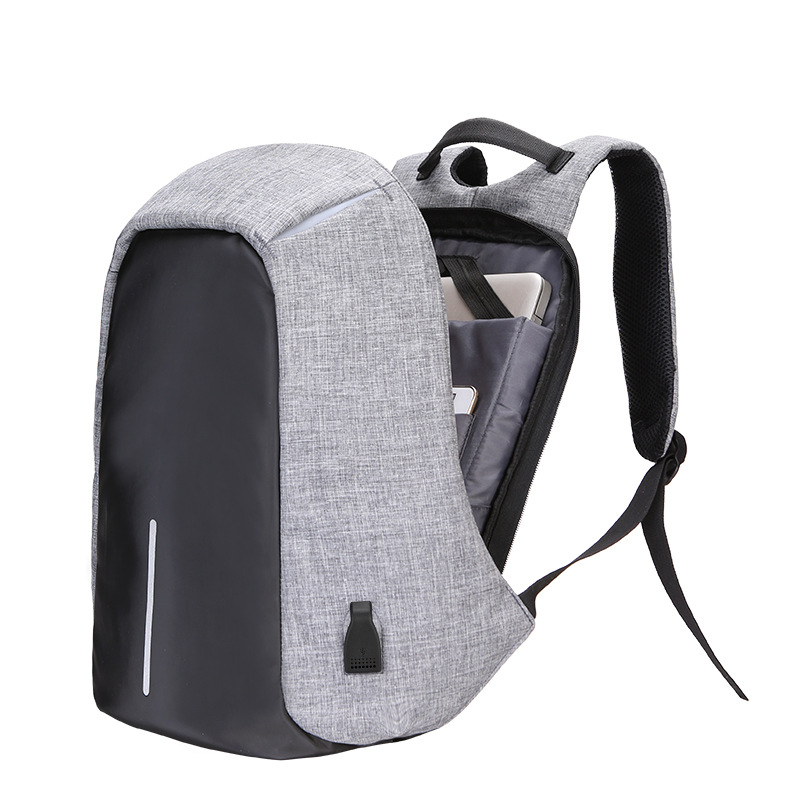 Men Anti theft travel large capacity waterproof nylon computer backpack bag USB rechargeable shoulder bag 15inch Laptop Backpack ozuko multi functional men backpack waterproof usb charge computer backpacks 15inch laptop bag creative student school bags 2018