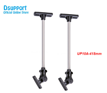 1 Pair (2pcs) UP10A 418mm Zinc Alloy Universal Ceiling Mount Surround Speaker Bracket Full Motion Speaker Hanger Loading 10kgs