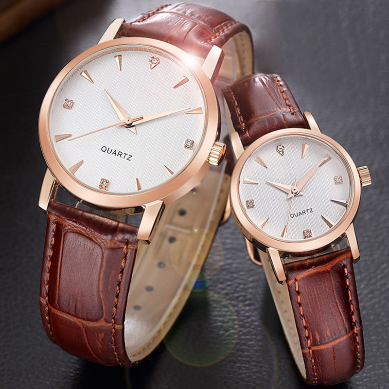 Pair of Couple Quartz Wrist Watch Ultrathin Steel Lovers Watches Fashion Waterproof Men Women Wristwatches relogio hot sale gift