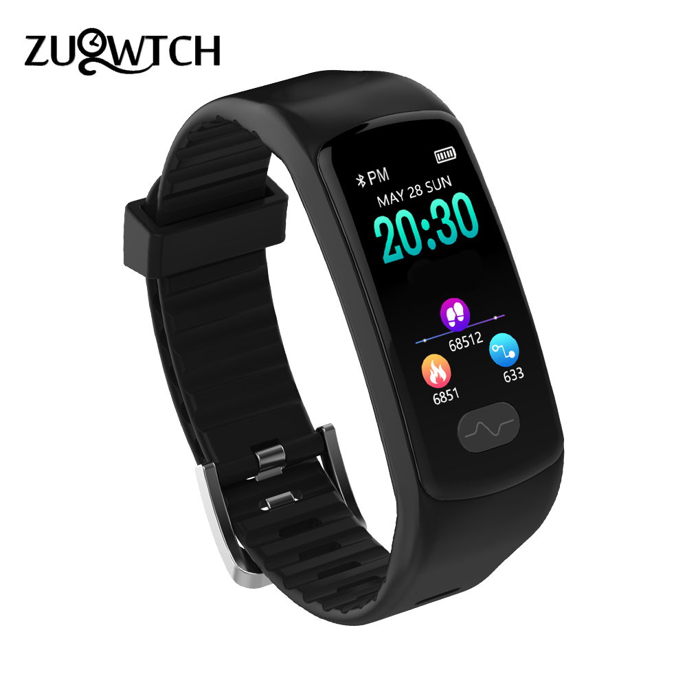 Smart Wristband Fitness Tracker Smart Bracelet Heart Rate Monitor ECG/PPG Blood Pressure Smart Watch Band for IOS Android Phone стоимость