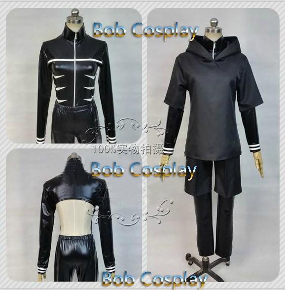 Tokyo Ghoul Ken Kaneki Cosplay Costume customized clothes custom made size can - Bob store