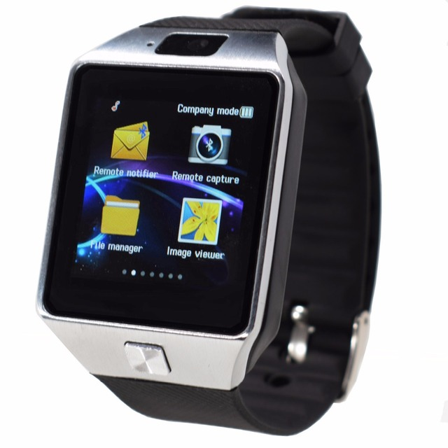G1 bluetooth smart watch para android sim suporte tf homens mulheres relógio de pulso reloj inteligente para samsung telefone pk q18 gt08 GV18