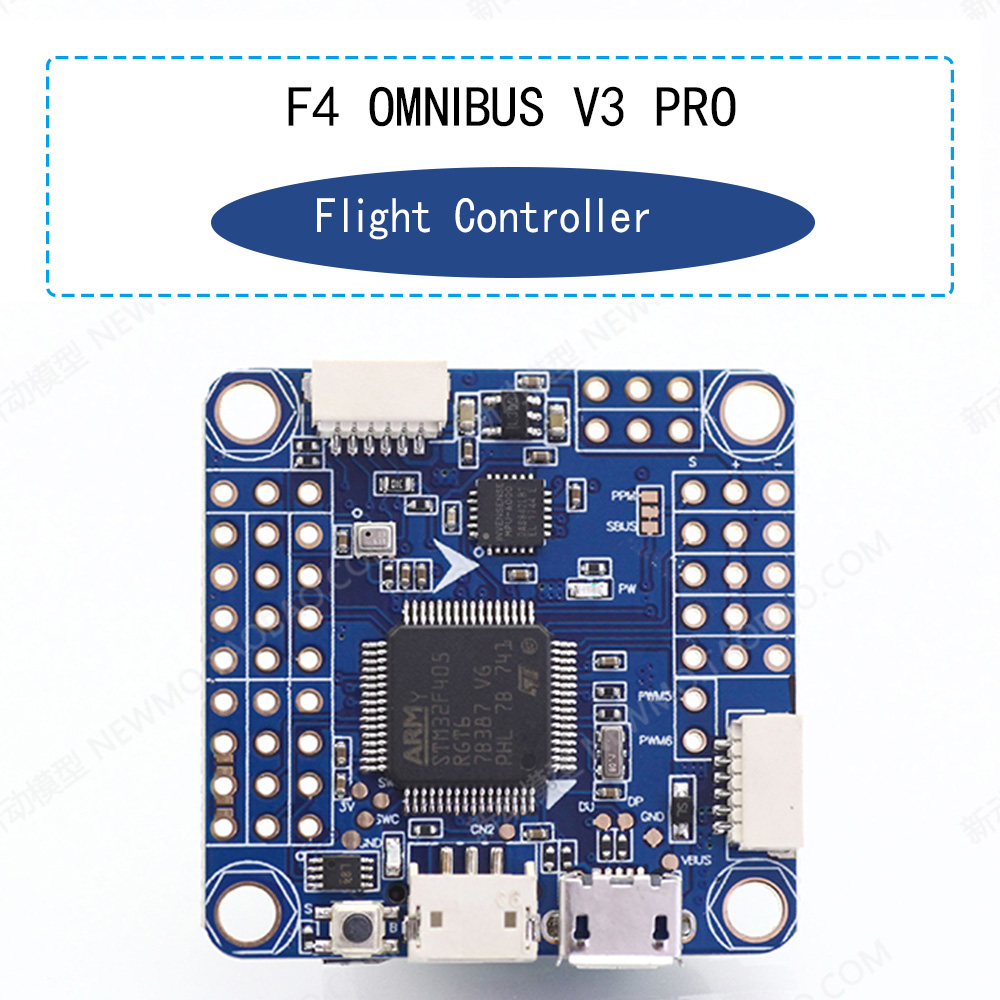 Flight Controller F4 OMNIBUS F4 Pro V3 Flight Controller Board Built-in OSD Barometer for Micro FPV Frame Quadcopter betaflight omnibus f4 flight controller built in osd power supply module bec for fpv quadcopter drone accessories fpv aerial pho