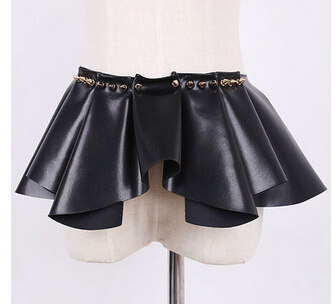 NEW fashion hight quality Luxury Design  leather rivet belt women cummerbund belt waist skirt female belt Accessories