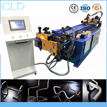 cnc pipe bending machine, DW38CNC full automatic aluminum copper hydraulic pipe bender,38mmX2mm yhb 16 ton pipe bender hydraulic tube bending machine manual machinery tools