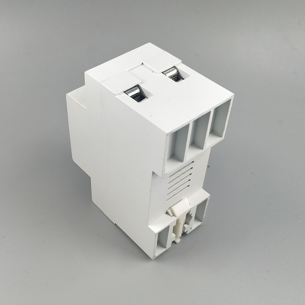 63a 230v Din Rail Adjustable Over And Under Voltage Protective Current Check Relay Device Protector With Protection Voltmeter In Circuit Breakers From Home