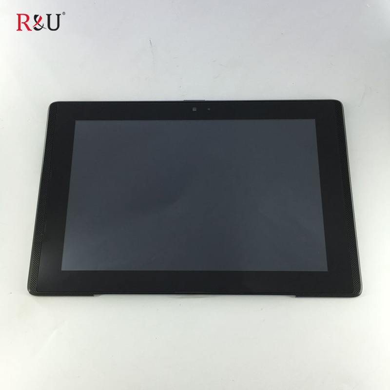 used parts HSD101PWW1 LCD Display Screen Touch Screen Panel Digitizer Glass Assembly With Frame Replacement For ASUS PadFone A66 for asus padfone mini 7 inch tablet pc lcd display screen panel touch screen digitizer replacement parts free shipping