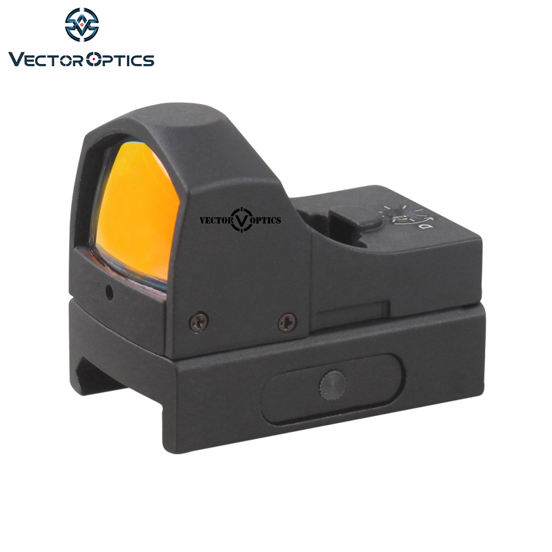 Vector Optics 1x22 Mini Auto Light Sense Red Dot Scope Dotcor 3 MOA Reflex Rifle Pistol Shotgun Airgun Gun Sight Shock Proof