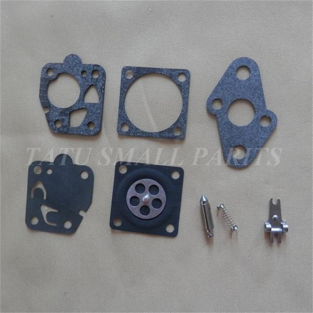 TD40 CARB REPAIR KIT FOR MARUNAKA KAAZ Kawasaki TD24 TD25 TD33 TD48 TG20 TG24 Etc CARBURETOR DIAPHRAGM REBUILD GASKET KITS