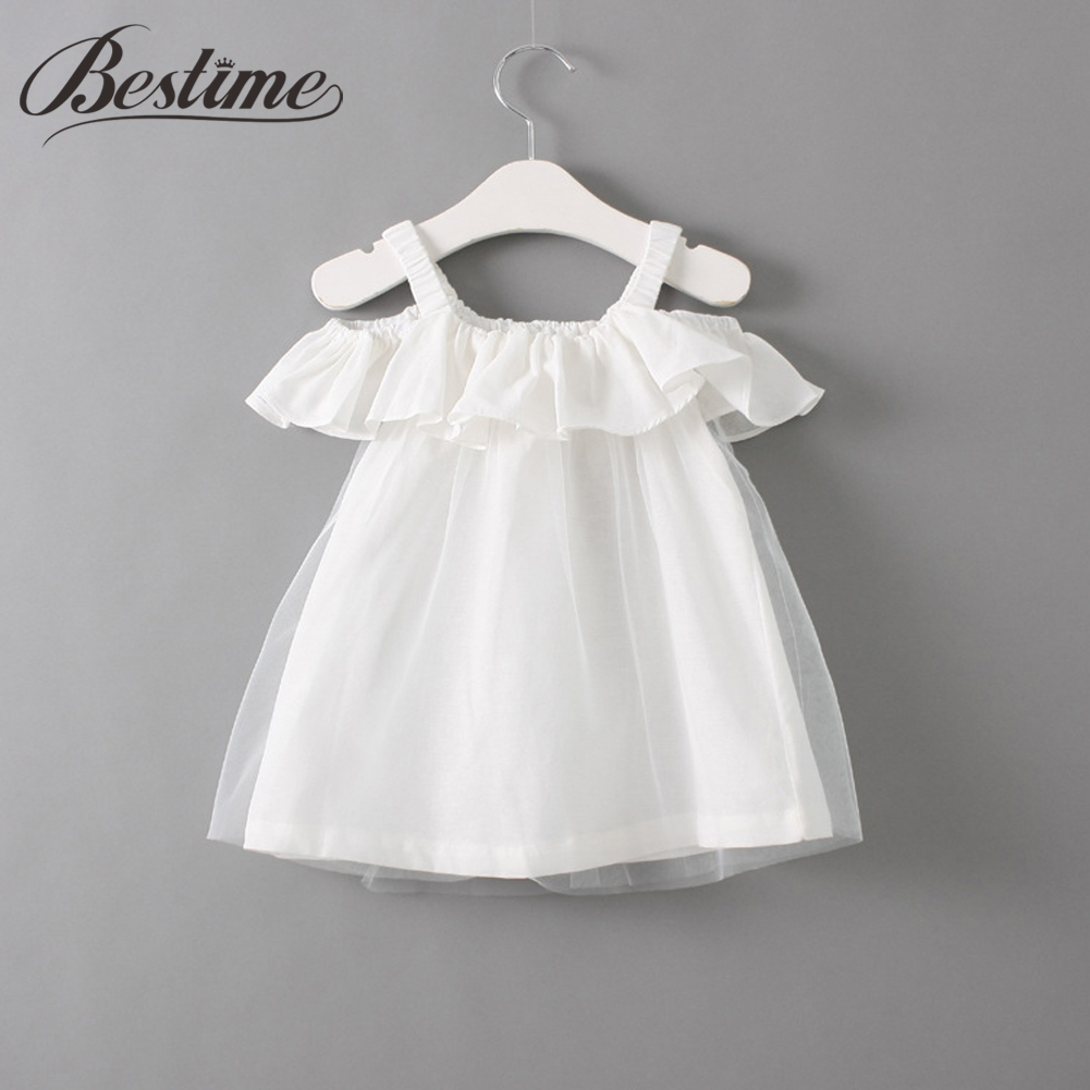 Lace Girl Dress Clothing Princess-Dresses Ruffles Kids Fashion Children Summer for 2-7y