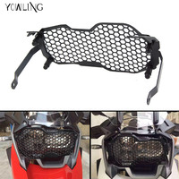 HOT R1200GS Motorcycle Stainless Steeless Headlight Grill Guard Cover Protector Grill For BMW R1200GS ADV 2013