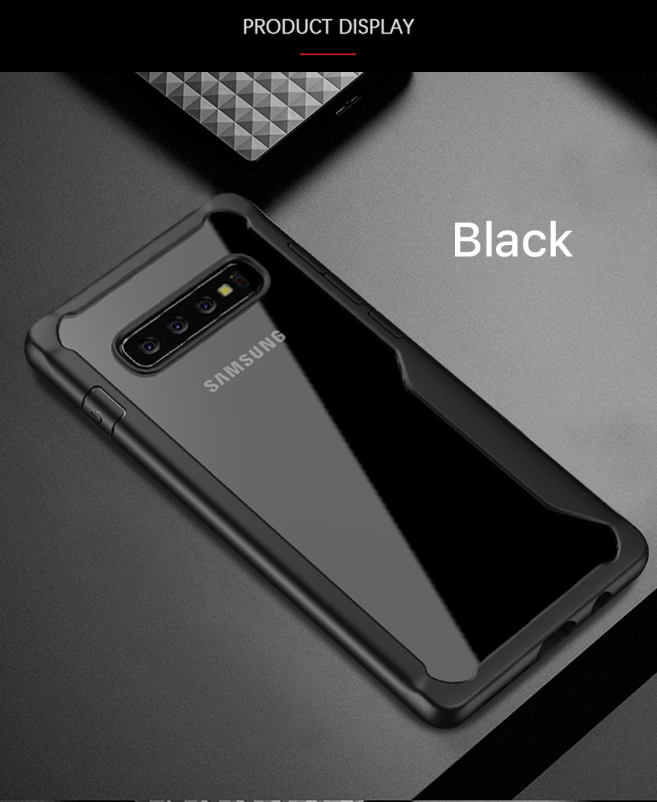 LUPHIE Shockproof Case For Samsung Galaxy S10 Plus Transparent Case (11)