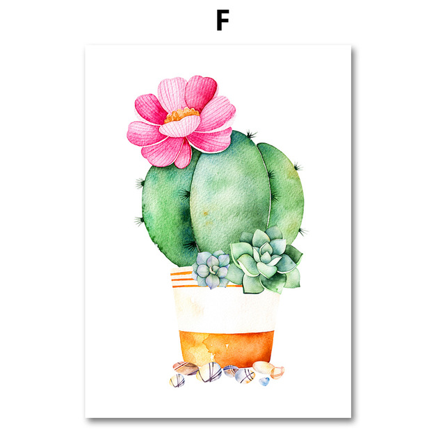 AFFLATUS-Cactus-Succulent-Plant-Canvas-Painting-Nordic-Poster-Wall-Art-Prints-Watercolor-Wall-Pictures-For-Living.jpg_640x640 (5)