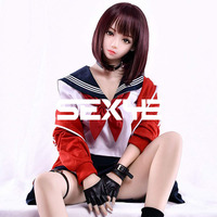 SEXYE Silicone Sex Dolls TPE Realistic Love Female Doll with Oral Vaginal Anus Breast & Butt Five Experience for Man