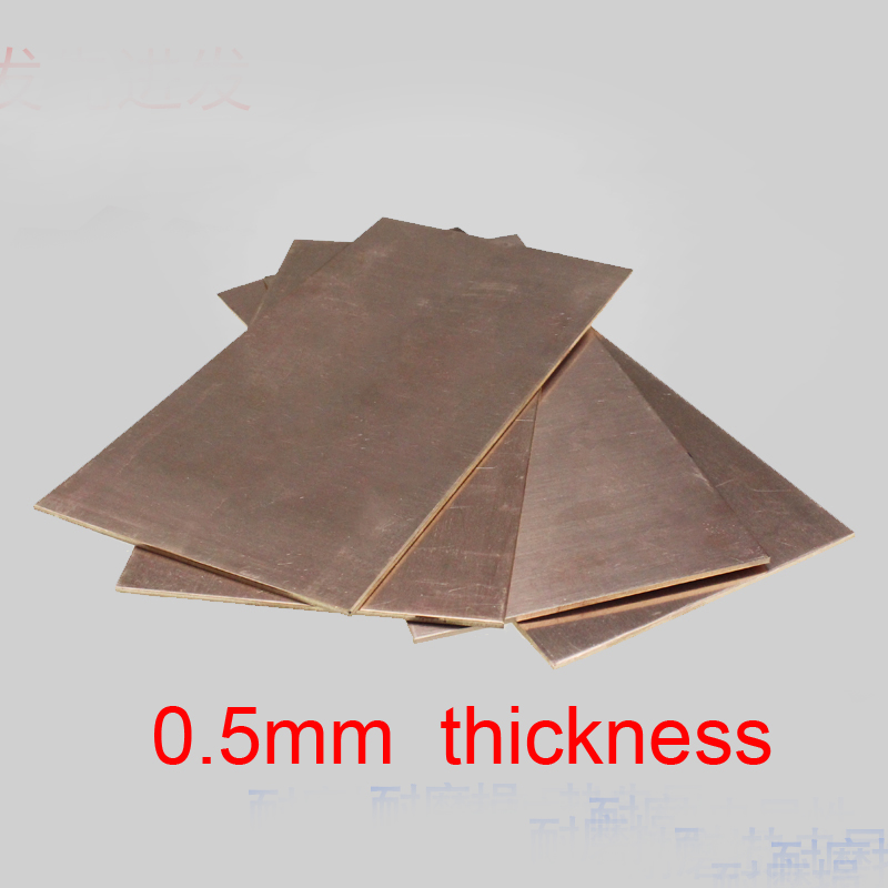 0 5mm Thickness Becu Board Beryllium Copper Plank Cu Be Plate Berylliumbe Sheet Beryllium Bronze Glucydur Beraloy C17200 Qbe2 Gaskets Aliexpress