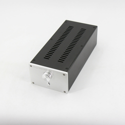 BZ1409C All Aluminum Chassis With cooling holes DIY Case Audio Amplifier Shell Pre-Amp Enclosure 145MM*90MM*311MM