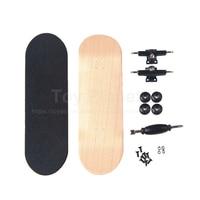 Finger Skate Board Canadian Maple Fingerboard Professional Finger Skateboards Birthday Gift Finger Boards Nickel Bearing
