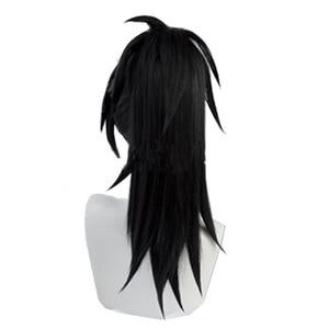 Image 5 - Cosroad Anime Dororo Hyakkimaru Kimono Wigs Black high temperature wig Cosplay Men Women Wig Halloween Party