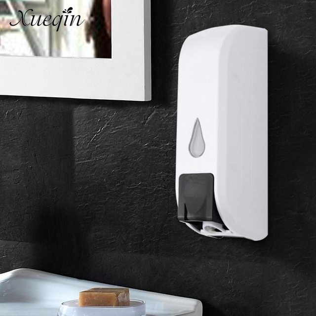 Elegant Xueqin 350ml Wall Mounted Liquid Soap Dispenser Home Hotel Bathroom Shampoo  Lotion Bottle Container Dispensers