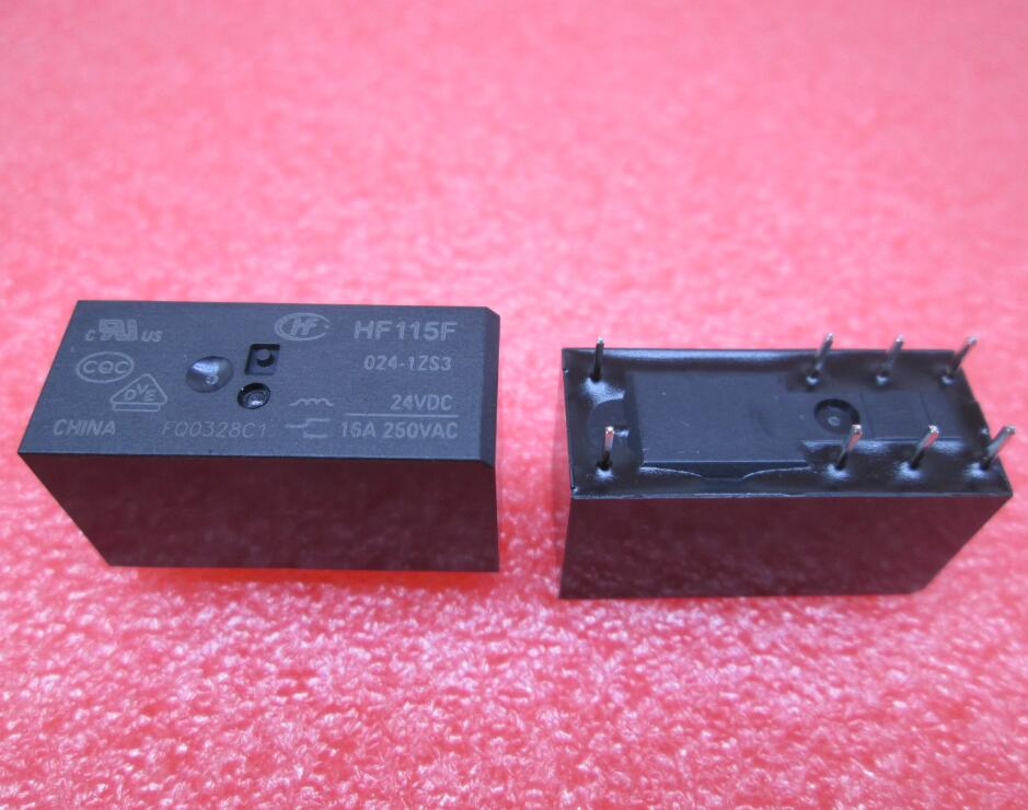 HOT NEW relay HF115F-024-1ZS3 HF115F-024-1ZS3-24VDC HF115F 024-1ZS3 24VDC 024-1ZS3-24VDC 24V 16A DIP8  цена и фото