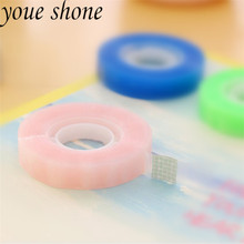 1pcs/32m Writing Adorable Adhesive Tape Repair Book Document Single-Side Tape Color Adhesive Force Lasting Transparent Mark Tape недорого