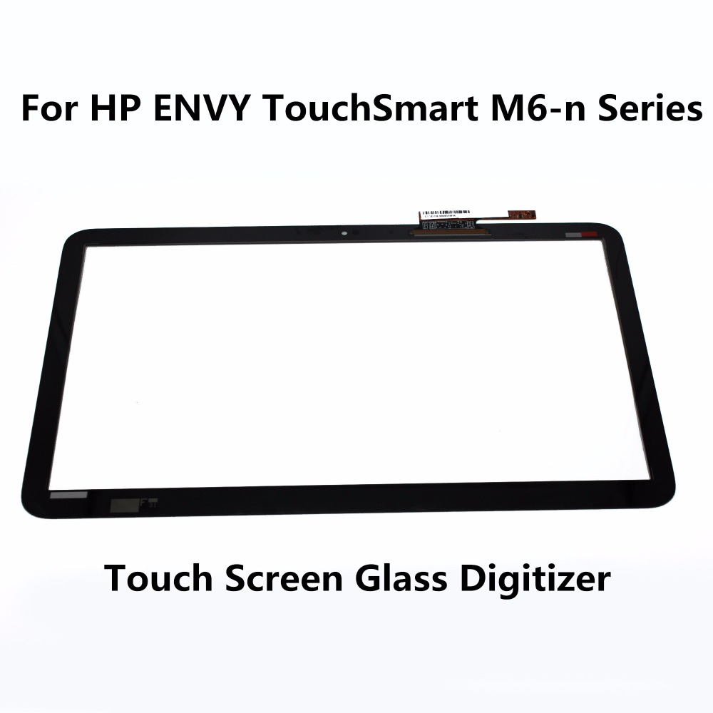 Touch Screen Digitizer For HP ENVY TouchSmart M6-n Series M6-N015DX M6-N010DX M6-N013DX M6-N016DX M6-N113DX M6-N012DX M6-N014DX 760042 001 free shipping original 760042 501 for hp envy m6 n010dx m6 m6 n laptop motherboard mainboard 100% teste
